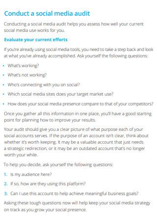 Digital Marketing Strategy Example
