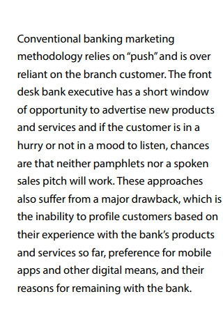 Digital Marketing Strategy for Banks