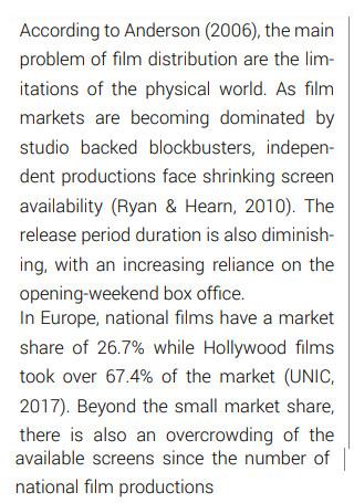Digital Marketing Strategy for Next Generation Film Distributio