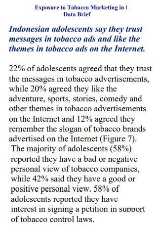 Tobacco Marketing Data Brief